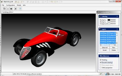CAD tools and WebGL (Three js)